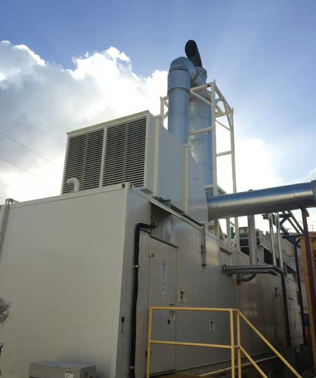The Matosantos CHP facility. - The ACHR News