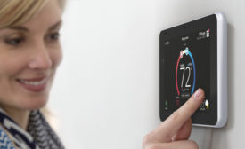 The iComfort S30 smart thermostat. - The ACHR News