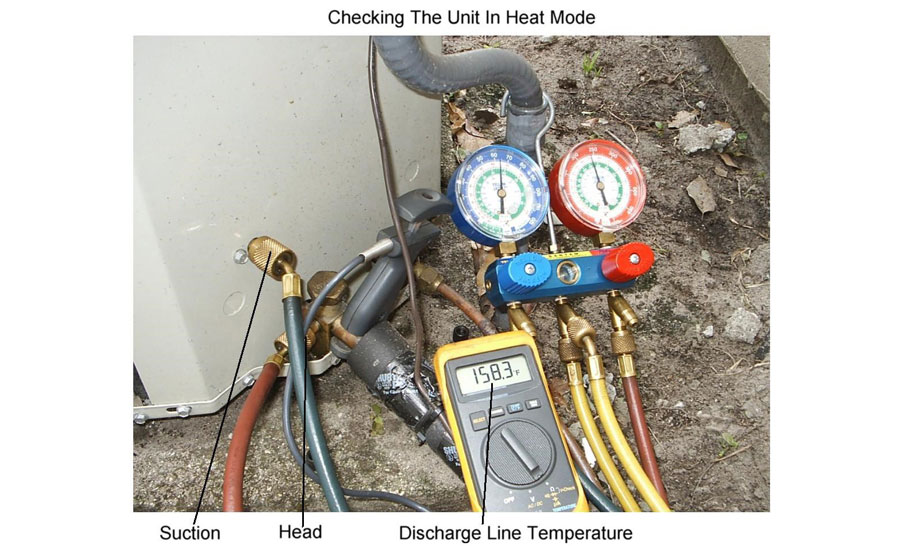 Checking the Charge on a Heat Pump in the Winter   2018-11