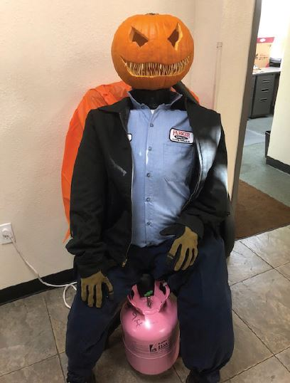 "An industry-themed pumpkin carving contest was part of ""Spirit"" week at an Arizona HVAC contractor. - The ACHR News"