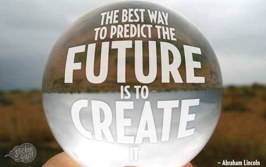 The best way to predict the future is to create it. - Abraham Lincoln - Distribution Trends