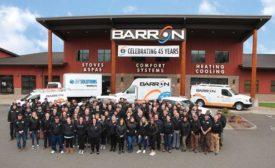 Barron Heating & Air Conditioning Staff - The ACHR News
