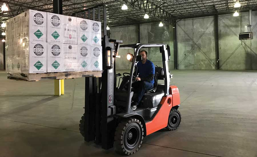 Dynatemp forklift.  Dynatemp believes that the EPA has the legal authority to extend refrigerant management to substitutes such as HFCs. - The ACHR News