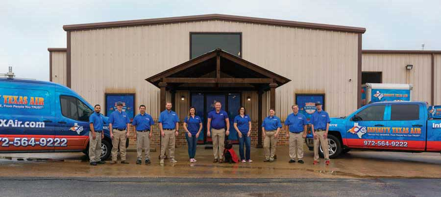 Infinity Texas Air staff. - The ACHR News