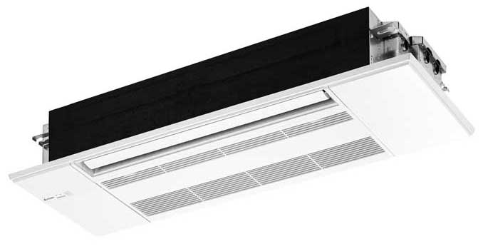 The Mitsubishi Electric Trane HVAC US (METUS) MLZ One-Way Ceiling Cassette. - The ACHR News