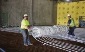 Custom-designed radiant tubing mats - The ACHR News