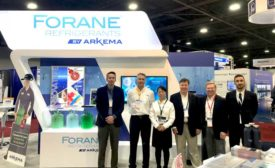 Arkema's booth at AHR Expo 2019. - The ACHR News