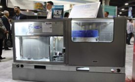 Carrier's WeatherMaker packaged rooftop unit with EcoBlue technology. The ACHR News