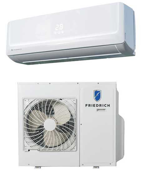 Launched at this year's expo, the Friedrich Floating Air Pro and Floating Air Premier ductless solutions have been re-engineered to feature Fastpro. - The ACHR News