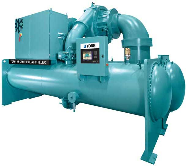 Johnson Controls' YorkK YZ Magnetic Bearing Centrifugal Chiller. - The ACHR News