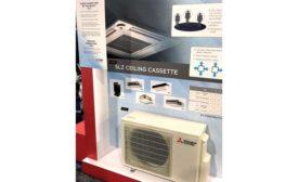 Mitsubishi Electric SLZ Ceiling Cassette - ACHR News