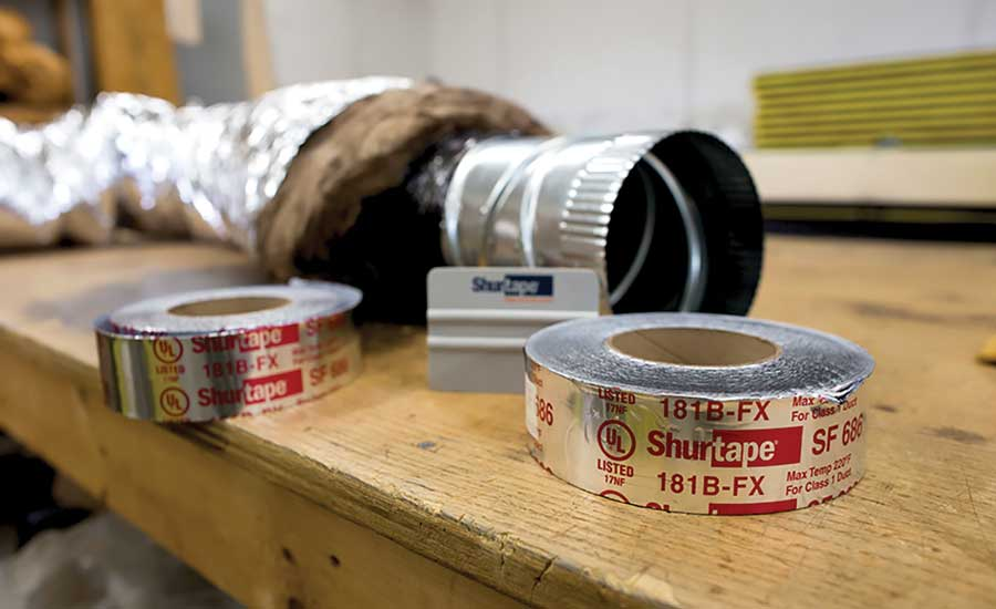 "Shurtape's UL-listed or ""red-letter"" tape. - The ACHR News"