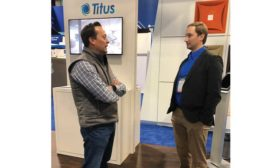 Visitors to the Titus booth found a new augmented reality (AR) experience waiting for them. - The ACHR News