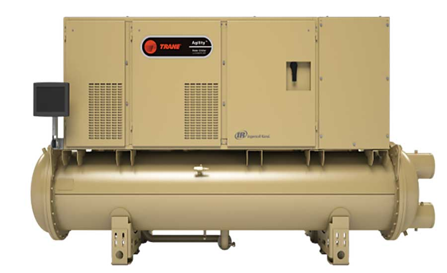 Trane The Agility magnetic-bearing chiller. - The ACHR News