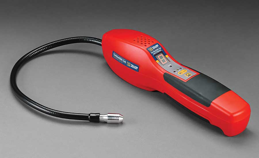 Yellow Jacket's combustible gas leak detector. - The ACHR News