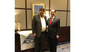 Barton James (left), interim president and CEO of ACCA. - The ACHR News