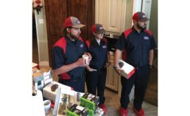 Kyle Taylor, Anna Palmen, and Marshall Hughlett, all of Triple A Air Conditioning & Heating in Flower Mound, Texas. - The ACHR News