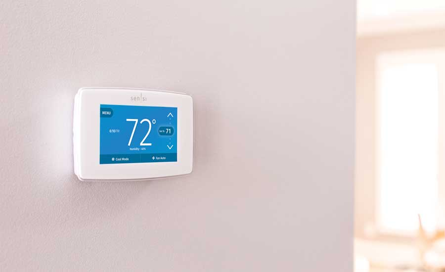 The Sensi line of thermostats from Emerson. - The ACHR News