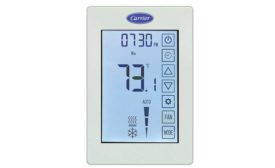 Carrier ComfortVu™ BACnet thermostat - Distribution Trends