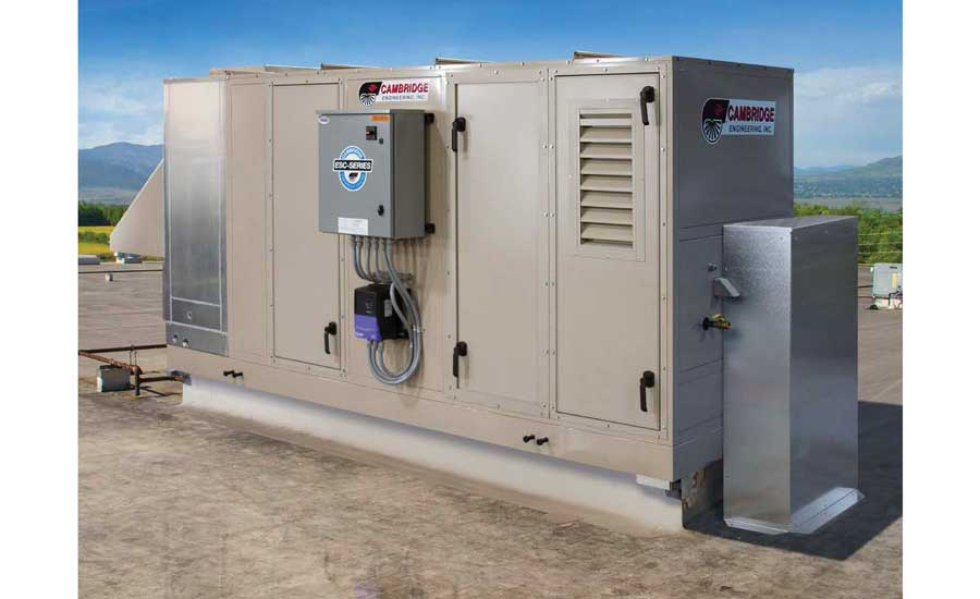 Cambridge Engineering ESC Series indirect evaporative cooling units. - The ACHR News