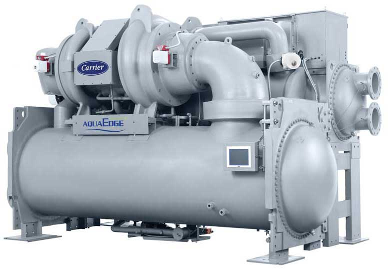 Carrier's AquaEdge 19DV water-cooled centrifugal. - The ACHR News
