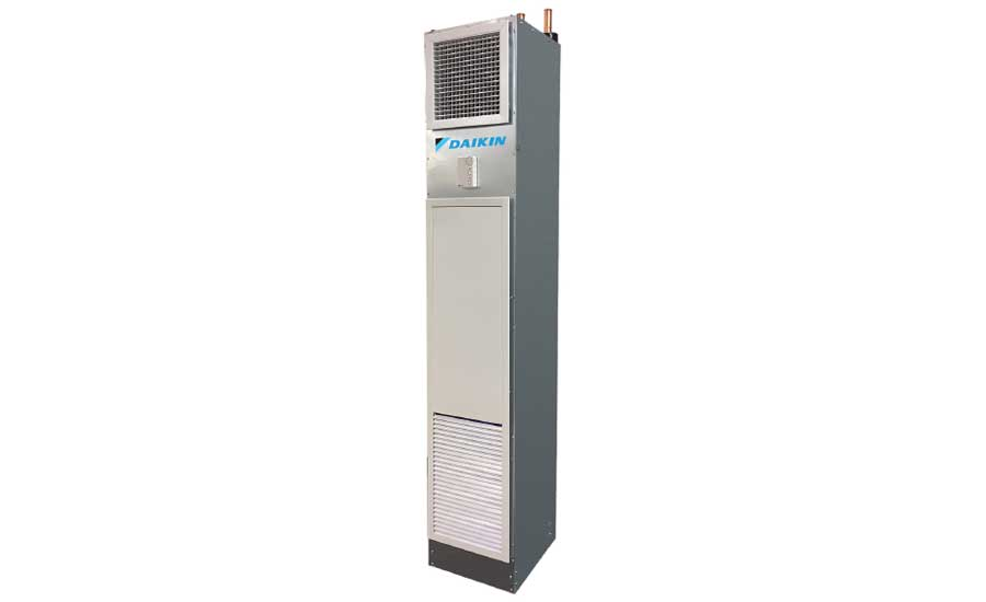 Daikin Applied OptiLine vertical stacked fan coil, model FSG. - The ACHR News