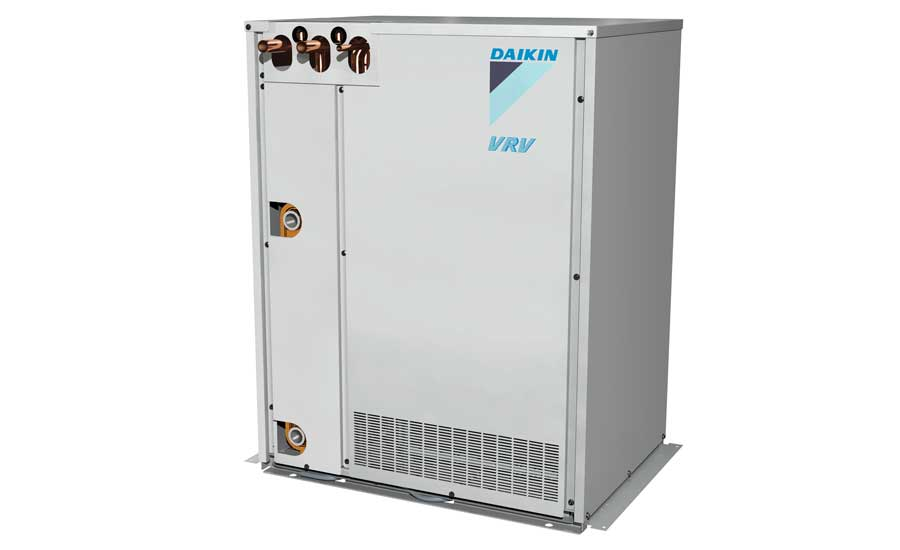 Daikin VRV T-Series water-cooled heat pump or heat recovery. - The ACHR News
