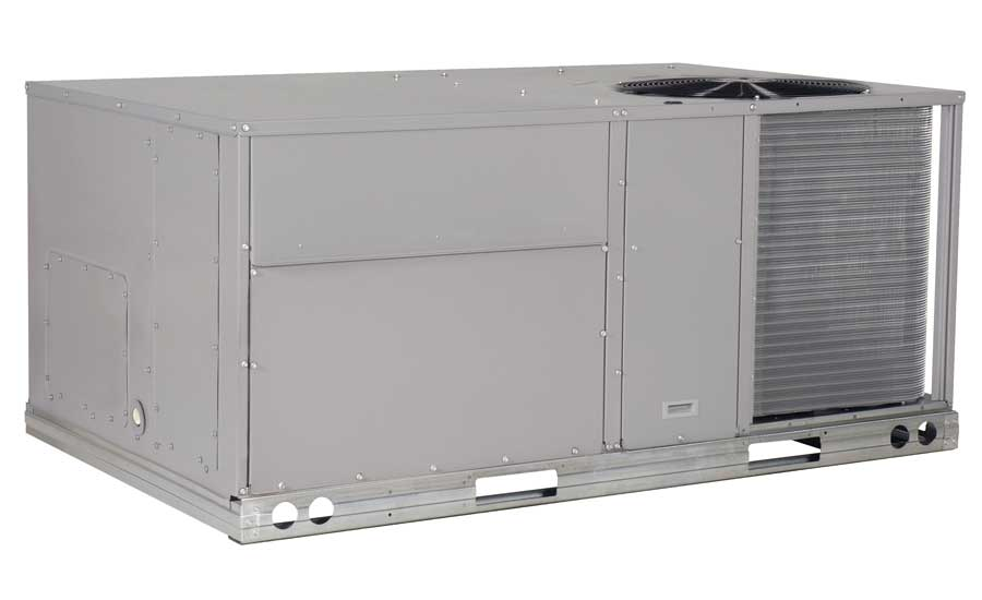 ICP Commercial Packaged rooftop unit with X-Vane fan, RAW Series. - The ACHR News