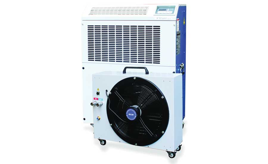 Koldwave 6SS12 and 6SS24 water-cooled packaged air conditioner with fluid cooler. - The ACHR News