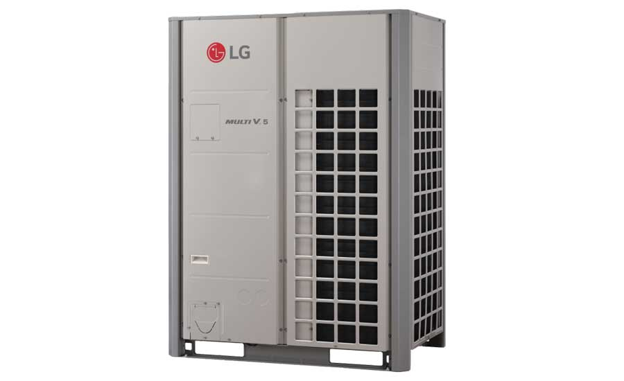 LG Electronics, Air Conditioning Technologies Multi V 5 with LGRED heat recovery/heat pump outdoor unit, ARUM-BTE5. - The ACHR News