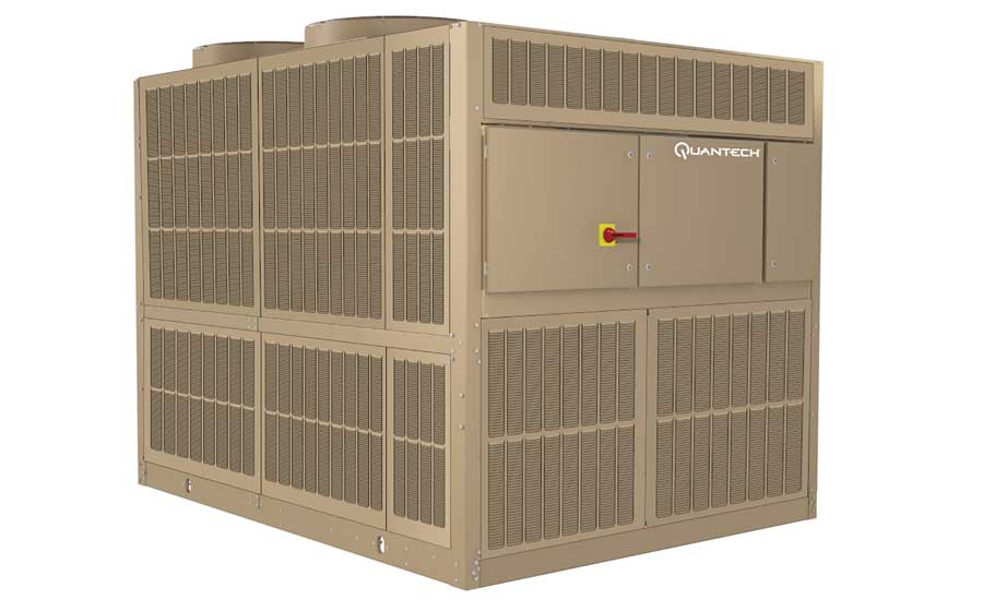 Quantech QTC3 air-cooled scroll chiller. - The ACHR News