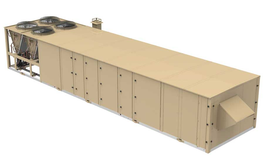 TempMaster OmniPremier 25- to 50-ton rooftop units. - The ACHR News