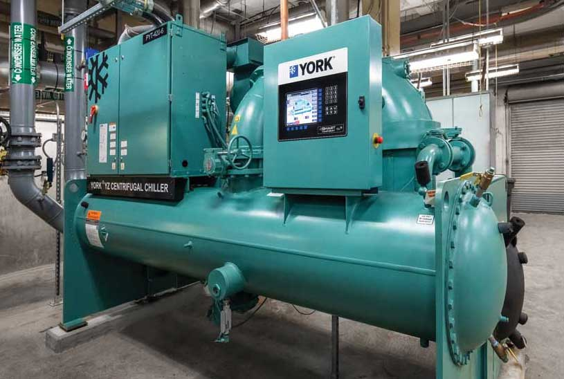 The YORK YZ magnetic bearing centrifugal chiller. - The ACHR News
