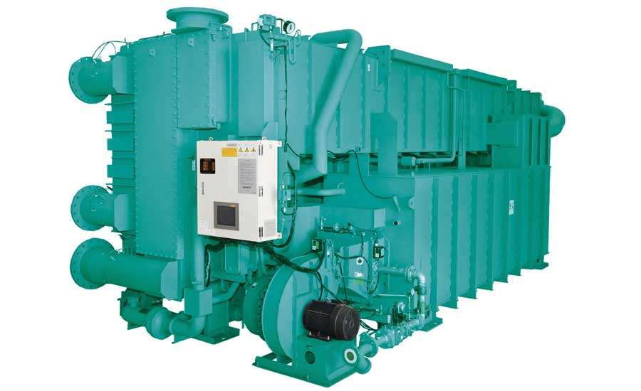 York YHAU-CGN absorption chiller. - The ACHR News