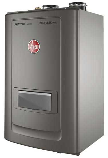Rheem's Energy Star certified Professional Prestige Combination Boiler. - The ACHR News