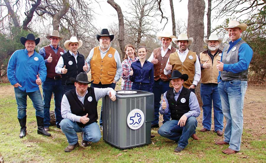 From left to right: Joe Strittmatter and Dustin Neff (front row). Gary Singleton, Keith Neff, Sean Stark, Steve Lauten, Tawnya Strittmatter, Adrianne Neff, Brian Behan, Justin Lauten, Ben Stark, and Trapper Barnes (back row). - The ACHR News