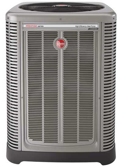 The Rheem Prestige Series EcoNet- Enabled Variable Speed Heat Pump - The ACHR News