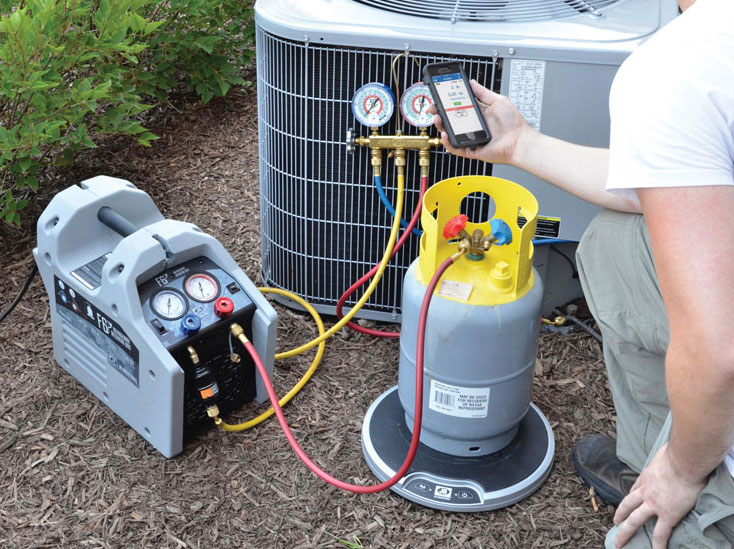 F6-DP refrigerant recovery machine from JB Industries. - The ACHR News