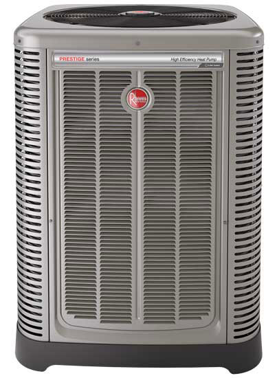 Rheem's Prestige Series EcoNet enabled variable-speed air conditioner. - The ACHR News