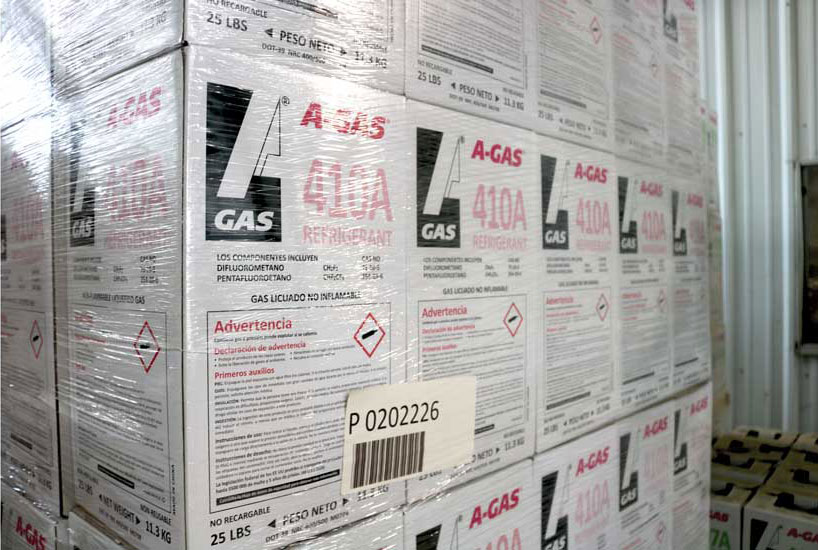 A-Gas is a major U.S. refrigerant reclaimer and an importer of halocarbons, including R-32 and R-125. - The ACHR News