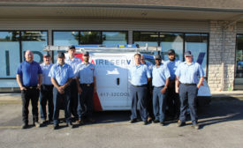 Scott Jay converted his business, Advan-Tech Heating & Cooling, to an Aire Serv franchise in 2008. - The ACHR News