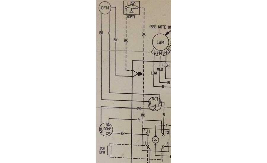 A Compressor Starting Problem | 2019-07-08 | ACHR News | Hvac Compressor Wiring Diagram |  | ACHR News