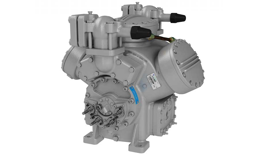 Carlyle's 5H semi-hermetic reciprocating compressors for ammonia (R-717)