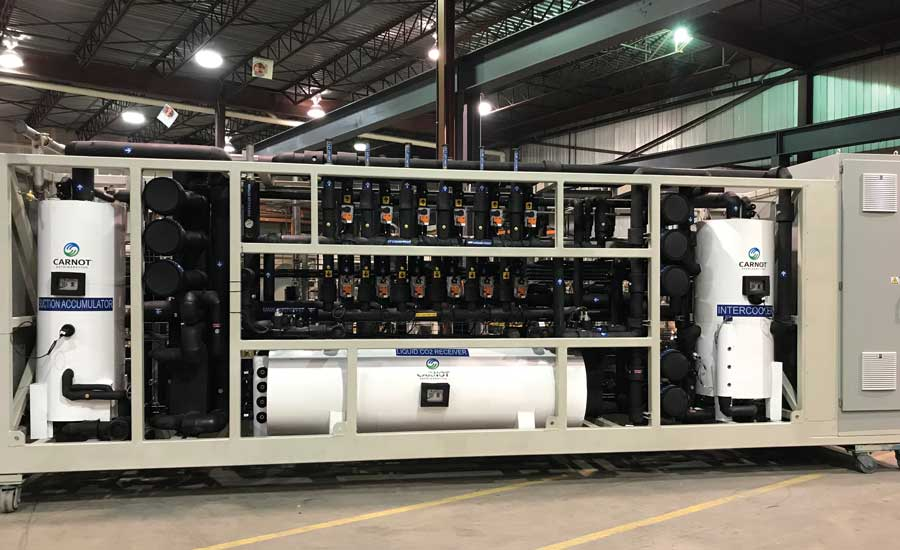 Carnot Refrigeration Custom CO2-based refrigeration packages for industrial applications