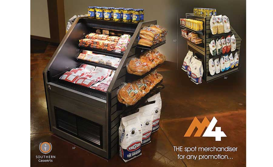 Southern CaseArts M4 self-contained (plug-and-play) refrigerated merchandiser