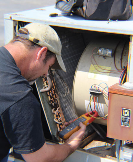 White slime inspection of HVAC equipment. - The ACHR News