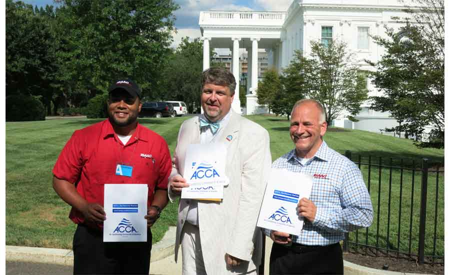 Air Conditioning Contractors Of America Meet With