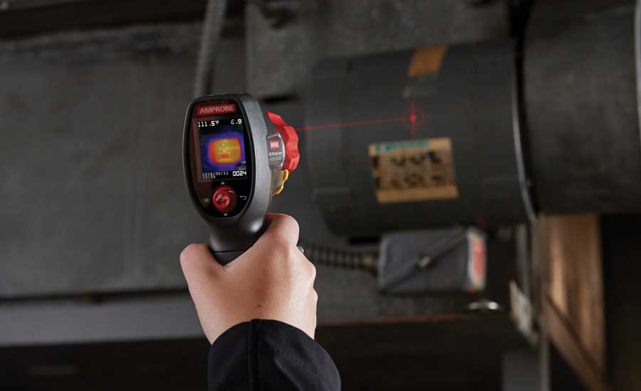 Amprobe IRC-120 Thermal Camera - The ACHR News