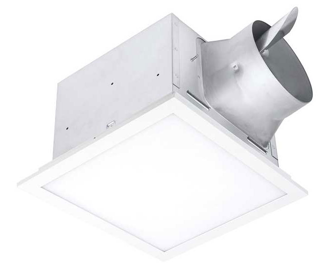 Delta Electronics BreezSignature SIG80-110ELED Bathroom Fan - The ACHR News