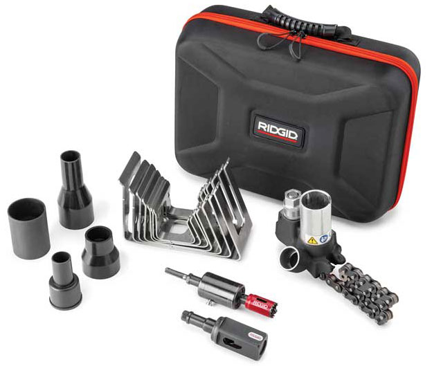 Emerson Ridgid Press-In Branch Connector Tool Kit - The ACHR News